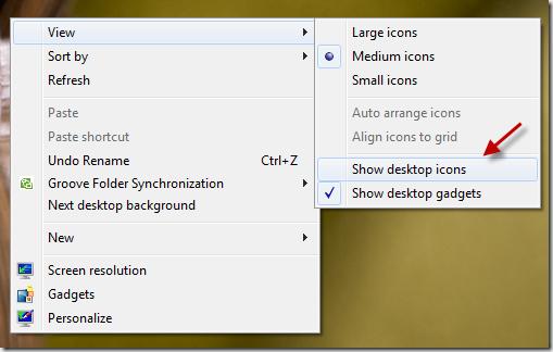 hide desktop icons 2